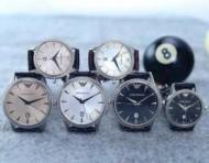 2015春夏物 セレブ風アルマーニ ARMANI  恋人腕時計 サファイヤクリスタル風防 日付表示 3色可選 オリジナル クオーツ?ムーブメント