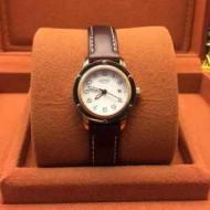 2015春夏物 肌触りの気持ちい? HERMES エルメス サファイヤクリスタル風防 女性用腕時計 5色可選