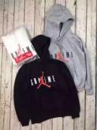 上質 2015秋冬物 Supreme x Air Jordan プルオーバーパーカー 男女兼用 3色可選