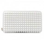 良い雰囲気を纏う Christian Louboutin クリスチャン ルブタン  サイフ ホワイト 収納できる財布