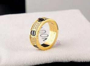 デザインの良さと着け心地の良さを兼ね備える 2016大人気 Cartier カルティエ ダイヤ リング ゴールド.