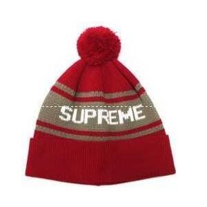 秋冬人気雑誌掲載のSupreme、シュプリーム コピーの魅力なポンポン付きのニット帽子.