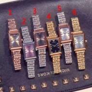 ★安心★追跡付 アルマーニ ARMANI  2017新作 女性用腕時計 ダイヤベゼル 多色選択可