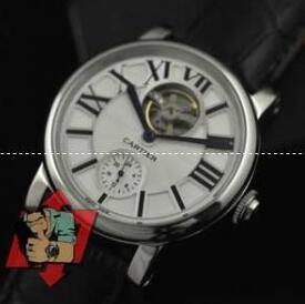 ウォッチハンドカレンダーのカルティエ  コピー、Cartierのメンズビジネスマン腕時計.