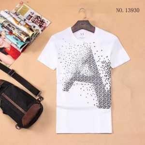 大人のセンスを感じさせる 2017 半袖Tシャツ アルマーニ ARMANI 4色可選