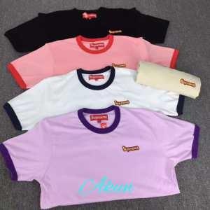 2017 SUPREME シュプリーム 半袖Tシャツ一味違うケーブル編みが魅力満点   5色可選 男女兼用