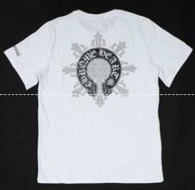 クロムハーツ シャツ メンズ ホノルル 限定 モデル 爆買い最新作Chrome HeartsTシャツ 白い綿コットン男性用.