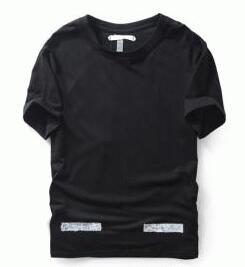 オフホワイト コピー 人気 OFF-WHITE 最安値人気なホワイトとブラック2色 メンズ半袖Tシャツ カジュアル夏服.