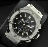 ダイヤモンドが嵌るグレーとブラック ウブロ コピー HUBLOT ビッグバン クラシックフュージョン 511.ZX.1170.RX.1104 品質保証大人気なメンズ腕時計.