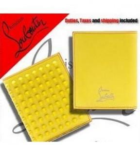 有名人愛用できるルブタン財布新作  CHRISTIAN LOUBOUTIN 魅力的な財布 イエロー