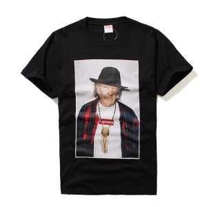 お買い得品2017春夏物SUPREME シュプリームNeil Young Tee 偽物半袖Tシャツ 2色可選