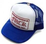 超激得高品質Chrome Heartsクロムハーツコピー【TRUCKER CAP/トラッカーキャップ】キャップFUCKパッチクロスボール付メッシュ帽子