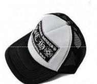 大人気限定品CHROME HEARTSクロムハーツ偽物キャップ【TRUCKER CAP/トラッカーキャップ】帽子新作 ホワイトブラック野球帽キャップ