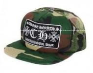 品質保証得価Chrome Heartsクロムハーツ偽物キャップTRUCKER CAPカモフラージュ柄 野球帽 迷彩 キャップ 帽子
