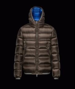 軽量で暖かいモンクレール メンズ ダウンジャケットジェンバート MONCLER JEANBART ブラウン