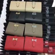 上質なエルメス財布二つ折りミニ財布 HERMES 札入れフラップウォレットプレゼント4色可選