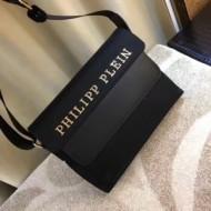 フィリッププレイン PHILIPP PLEIN 2018春夏新作 上品な輝きを放つ形 斜め掛けバッグ
