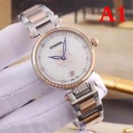 デザイン性の高い 2018春夏新作 多色可選 シャネル CHANEL 女性用腕時計