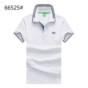 四色可選 HUGOBOSS ヒューゴボス Tシャツ 店舗 ゴルフ 半袖 ブランド メンズ ポロネック POLO ネイビー ブラック ホワイト レッド