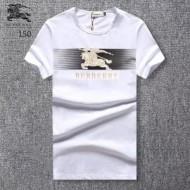 おすすめ コットン 綿素材 Tシャツ クルーネック 夏服 半袖 バーバリー 3色展開 メンズ プリント 馬図案 BURBERRY