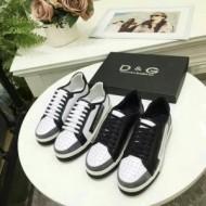 スニーカー、靴手触りがいい 2色選択可2018春夏新作 ドルチェ&ガッバーナ Dolce&Gabbana
