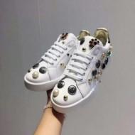 スタイリッシュ 2018春夏新作 スニーカー、靴 ドルチェ&ガッバーナ Dolce&Gabbana 2色可選