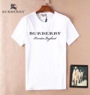 お買い得限定セール 夏物 半袖Tシャツ ブランド BURBERRY メンズ ホワイト ブラックグレー レッド カジュアル バーバリー