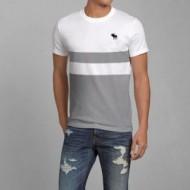 上品な印象 アバクロンビー&フィッチ コピー Abercrombie & Fitch 新作 ベーシック Tシャツ メンズ ゆったり トップス