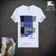 ファション単品 コピー ブランド バーバリー Tシャツ 新品 半袖 クルーネック 夏着 メンズ BURBERRY 3色