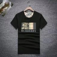 「オシャレ夏着」BURBERR人気 バーバリー 半袖 コピー Tシャツ 定番系 BLACK オーバサイズ 18新品