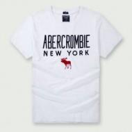 ★お得安値 Abercrombie & Fitch 偽物 アバクロ 新着 刺繍 Tシャツ 夏 ファション トップス 綿100%生地 メンズ