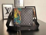 安心な品質ルイヴィトン偽物通販Louis Vuittonプリントビジネス用メンズショルダーバッグコピー