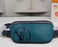 高級感を醸し出すルイヴィトンコピー人気Louis Vuittonウエストバッグ本革メンズボディバッグ