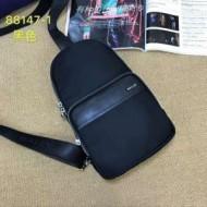 華やかな魅力を放ったバリーバッグ新作BALLYコピーメンズビジネス用斜め掛けウエストバッグブラック
