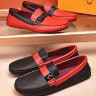 大人気の華奢なトッズメンズスーパーコピーTOD'S牛革靴コピー人気品赤ブラック快適履き心地良さ