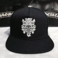 爆買い格安Chrome Heartsクロムハーツキャップコピー刺繍付きdagger whiteデニム帽子