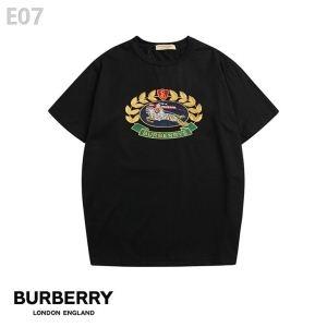 バーバリー 半袖 コピーBURBERRYコットンジャージーを使ったシンプルでクラシックなクルーネックTシャツ