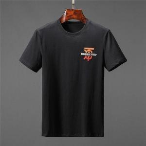 2019年春夏最旬の1着 Burberry 半袖tシャツ通販トレンド感満載コピー バーバリースーパーコピー 今季幅広いジャンル 黒白2色無地