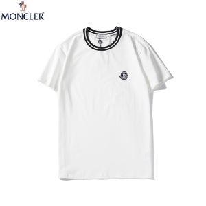 モンクレール Tシャツ サイズ感 優れた耐久性で大人気 MONCLER コピー メンズ ブラック ホワイト ストリート 限定品 お買い得