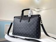 Louis Vuitton ビジネスバッグ 限定 日常着こなしを合わせやすい ルイ ヴィトン 通販 メンズ ブラック コピー 人気 格安