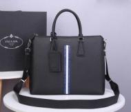 PRADA ビジネスバッグ 新作 着こなしの幅が広がる限定品 メンズ プラダ コピー ブラック 2020人気 オフィス 最安値