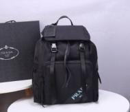 プラダ バックパック 新作 大人を魅力的に映るアイテム PRADA TESSUTO SOFT CA NERO メンズ コピー ブラック 限定品 格安