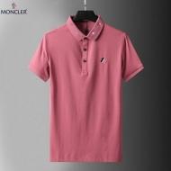 2021 ラペル通販 激安 モンクレール ポロシャツ コピー MONCLER 通気性と吸汗性に優れ 三色展開   ルーズバージョン