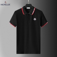 2021ブランド 品 激安 通販 MONCLER半袖 シャツスーパーコピー 赤色ラペルお買い得品質保証 通気性が高い